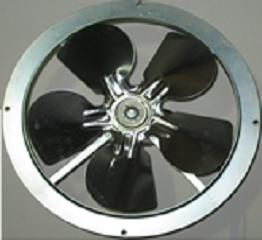 Round Metal Fan